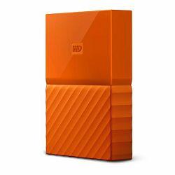 Vanjski Tvrdi Disk WD My Passport Orange 2TB