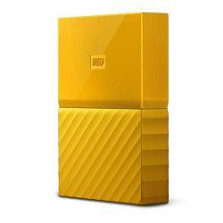 Vanjski Tvrdi Disk WD My Passport Yellow 2TB