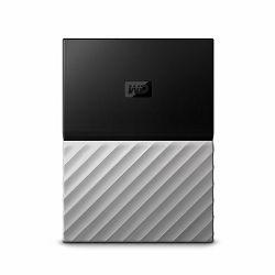 Vanjski Tvrdi Disk WD My Passport Ultra 2TB Grey