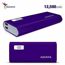 ADATA  Power Bank P12500D Purple