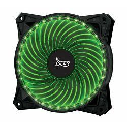 MS PC FREEZE 33LED zeleni ventilator za kućište