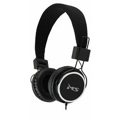 MS BEAT crne slušalice s mikrofonom