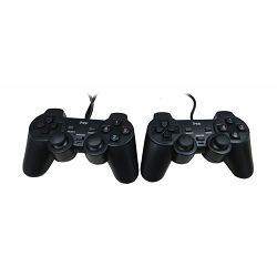 MS CONSOLE dvostruki žičani PC gamepad