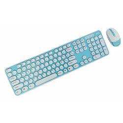 MS DECK plavi žičani set tipkovnica i miš