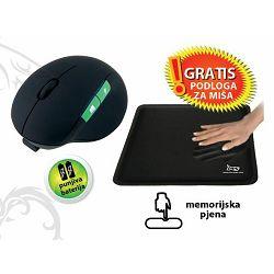MS ENGINE bežični miš + MS MP-03 podloga za miš GRATIS