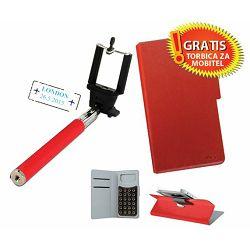 MS SELFIE štap crveni + MS MODULE 4