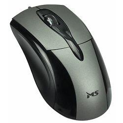 MS SKIPPER_3 žičani optički miš, srebrni