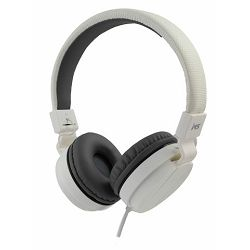 MS BEAT_2 bijele slušalice s mikrofonom