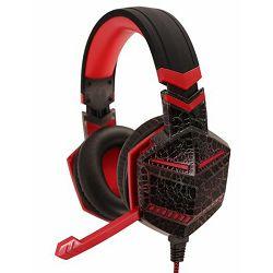 MS GODZILLA PRO gaming slušalice crvene
