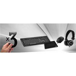 KB MSI KB-ALPHA+BEAT slušalice+BUBBLE miš+ podloga (x3)