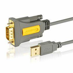 AXAGON ADS-1PQ USB2.0 - Serial RS-232 DB9 Adapter FTDI