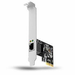 AXAGON PCEE-GR PCI-Express Gigabit Ethernet Realtek + LP limić
