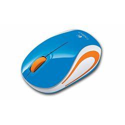 Miš bežični Logitech Mini M187, plavi