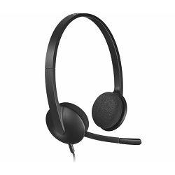 Slušalice Logitech H340, USB