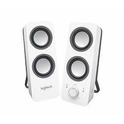 Zvučnici 2.0 Logitech Z200, bijeli