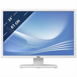 DELL monitor U2412M, 210-AJUX, White