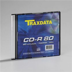 TRAXDATA OPTIČKI MEDIJ CD-R SLIM BOX 1