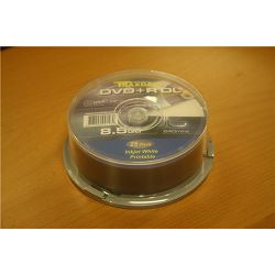 TRAXDATA OPTIČKI MEDIJ DVD+R 8X DUAL LAYER CAKE 25 PRINTABLE