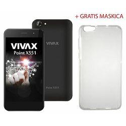 VIVAX Point X551 black+ gratis maskica