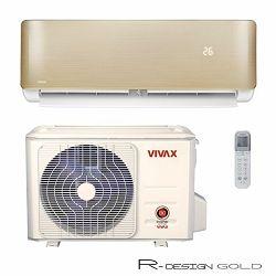 Vivax R DESIGN GOLD inv. klima 3,81kW, ACP-12CH35AERI GOLD+W