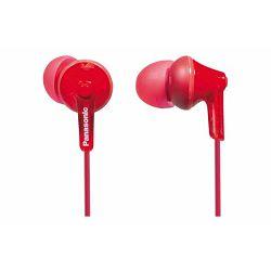 PANASONIC slušalice RP-HJE125E-R crvene