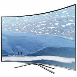 SAMSUNG LED TV 55KU6502, Zakrivljeni UHD, SMART