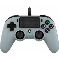 GAME PS4 Bigben PS4 Controller žični sivi