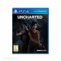 GAME PS4 igra Uncharted: The Lost Legacy