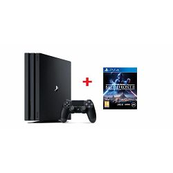 GAM SONY PS4 Pro 1TB black + igra Star Wars: Battlefront 2