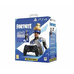 GAME PS4 Dualshock Controller v2 Black+Fortnite VCH