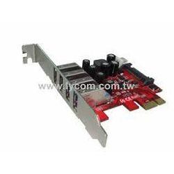 Kontroler Lycom PCIe x1 na 4 USB 3.0