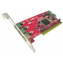 Kontroler Lycom PCI TO USB 2.0 (NEC chipset) 5Ports Low Prof