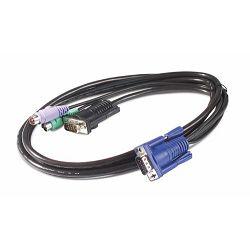 APC KVM PS/2 kabel, duljina 1.8m AP5250