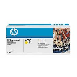 HP toner CE742A Yellow