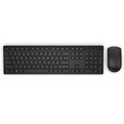Dell bežični set tipkovnica + miš  KM636, 580-ADFT, crna boja