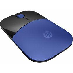HP miš Z3700, bežični, plavi, V0L81AA