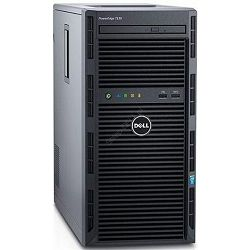 SRV DELL T130 E3-1225v6, 2x2TB HDD, 8GB MEM