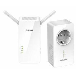 D-Link Powerline bežični Ethernet adapter kit DHP-W611AV/E
