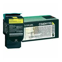 Toner LEXMARK C540/ 543/ 544 Yellow High Yield