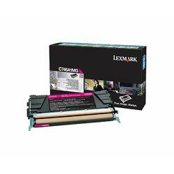 Toner LEXMARK C746A/748 magenta