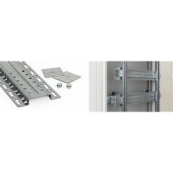 Vertikalni kabelski kanal 600mm, horizontalni