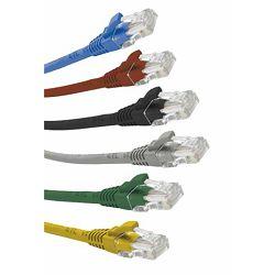 Excel prespojni mrežni kabel Cat.6 U/UTP LSOH 1m bijeli