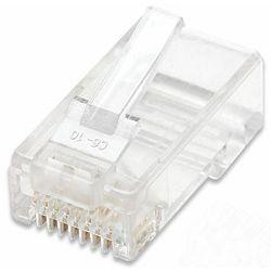 LAN konektor, RJ45 Cat.5e, UTP, pakiranje 100kom., za stranded kabel