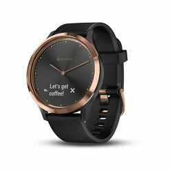 Garmin Vivomove HR Sport S/M- Rose-gold crni