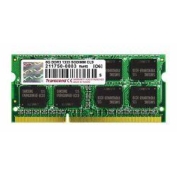 Memorija za prijenosna računala Transcend DDR3 8GB 1333MHz