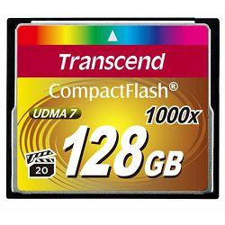 Memorijska kartica Compact Flash Transcend 128GB 1000X TS