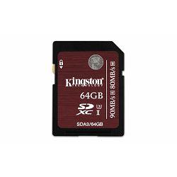 Memorijska kartica Kingston SD 64GB UHS-I Speed Class 3