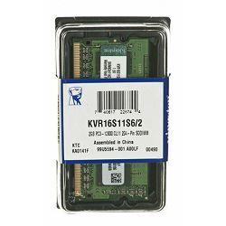 Memorija za prijenosna računala Kingston DDR3 2GB 1600MHz