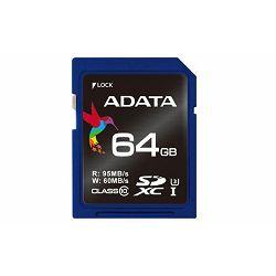 Memorijska kartica Adata SD 64GB UHS-I Class 3