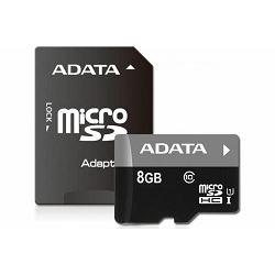 Memorijska kartica Adata SD MICRO 8 GB HC Class 10 UHS